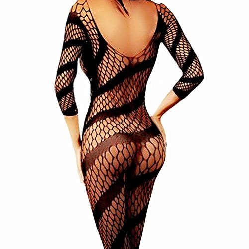 5e2fc8e9aff Daisland Women Sexy Lingerie Sleepwear Nightwear Fishnet Crothless  Bodystocking   Check out the image by visiting the link.