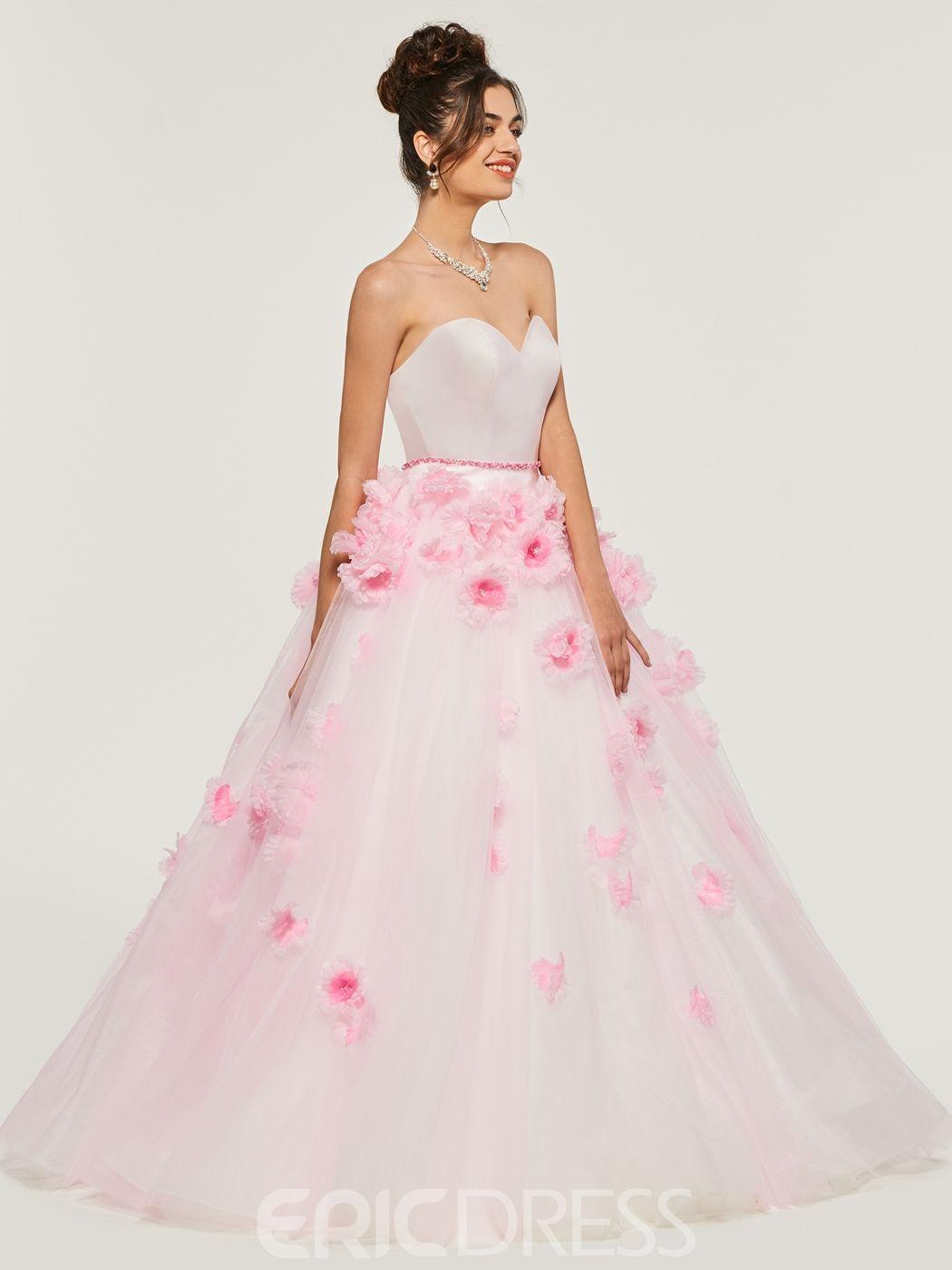 ericdress Schatz Applique Ball Quinceanera Kleid | Kleider ...