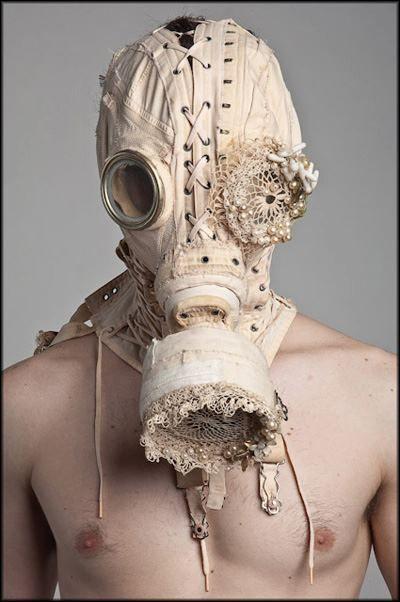 WrenPurevile corset gas mask