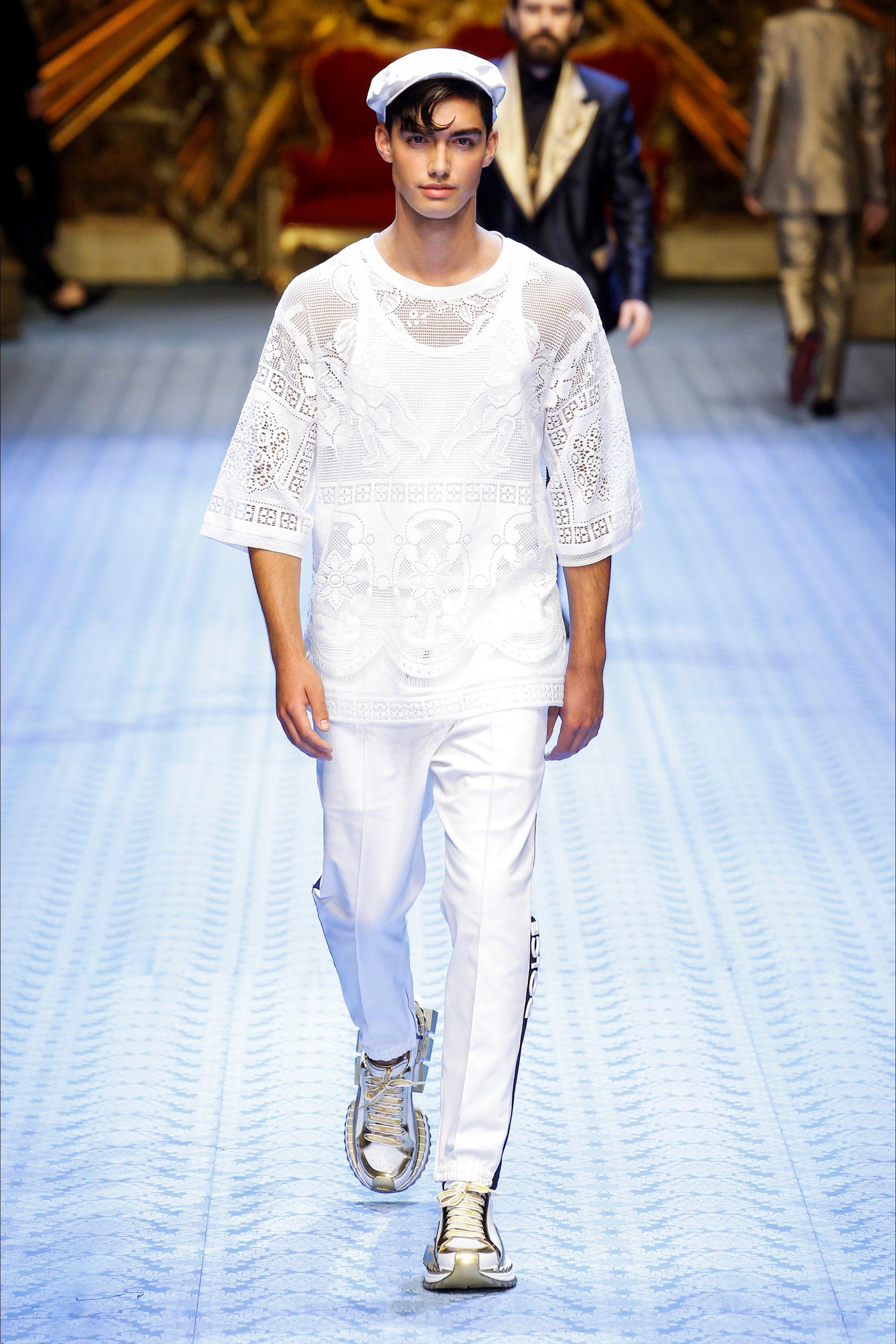 Sfilata Moda Uomo Dolce & Gabbana Milano Primavera Estate