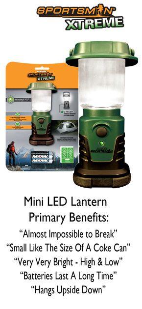 This Super Bright 1 Watt 70 Lumen Led Lantern Lasts 10 Times Longer On A Single Set Of Batteries Than Almo Led Lantern Mini Lanterns Battery Powered Lanterns