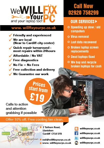 Pin By Mehroz Khan On Fly Design Computer Repair Computer Repair Services Flyer