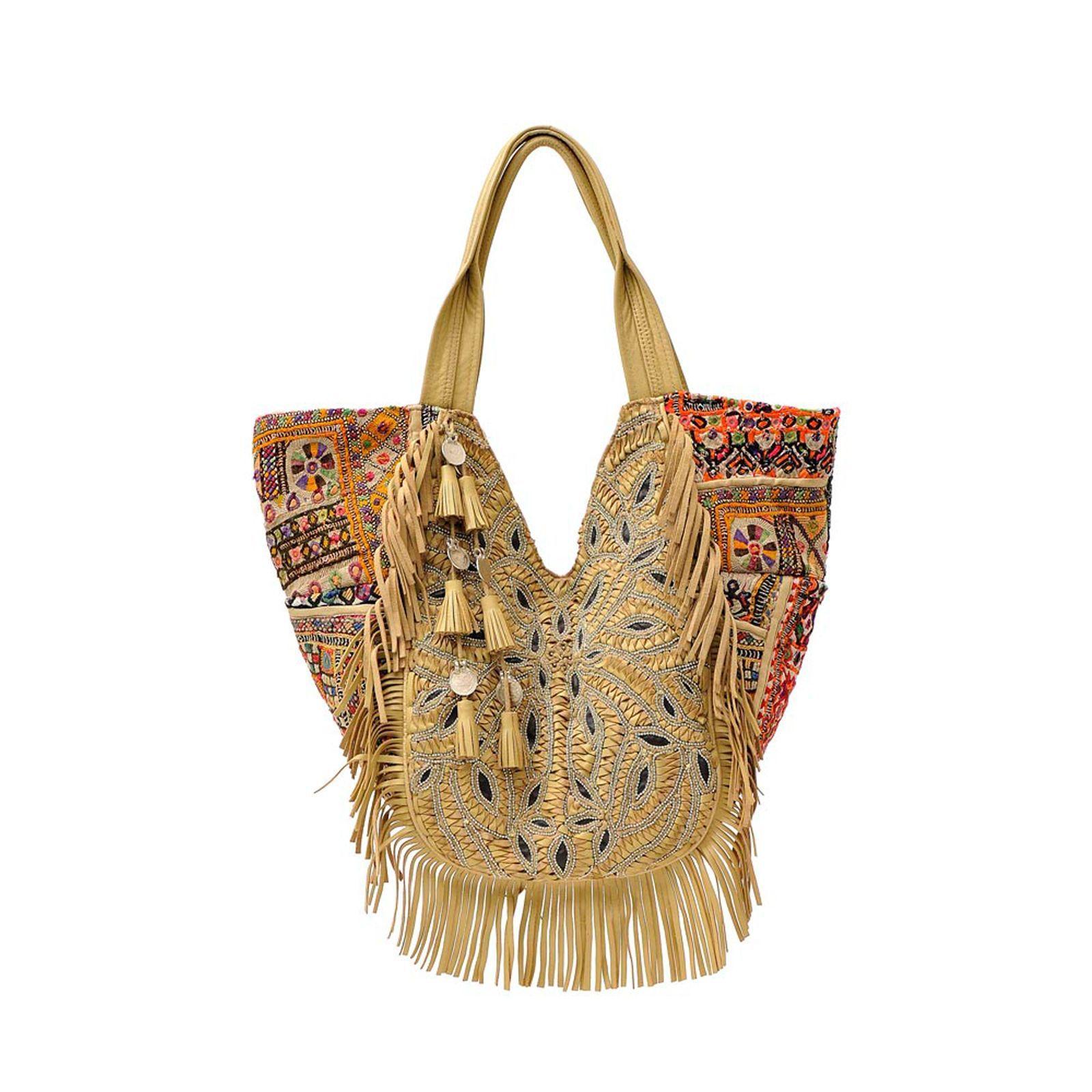 9044967d04 ANTIK BATIK Cabas Aden beige | Semaine du 25 mai | bag | Accessoires ...