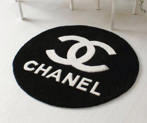 Chanel Inspired Rug From Couture Home On Storenvy Bath