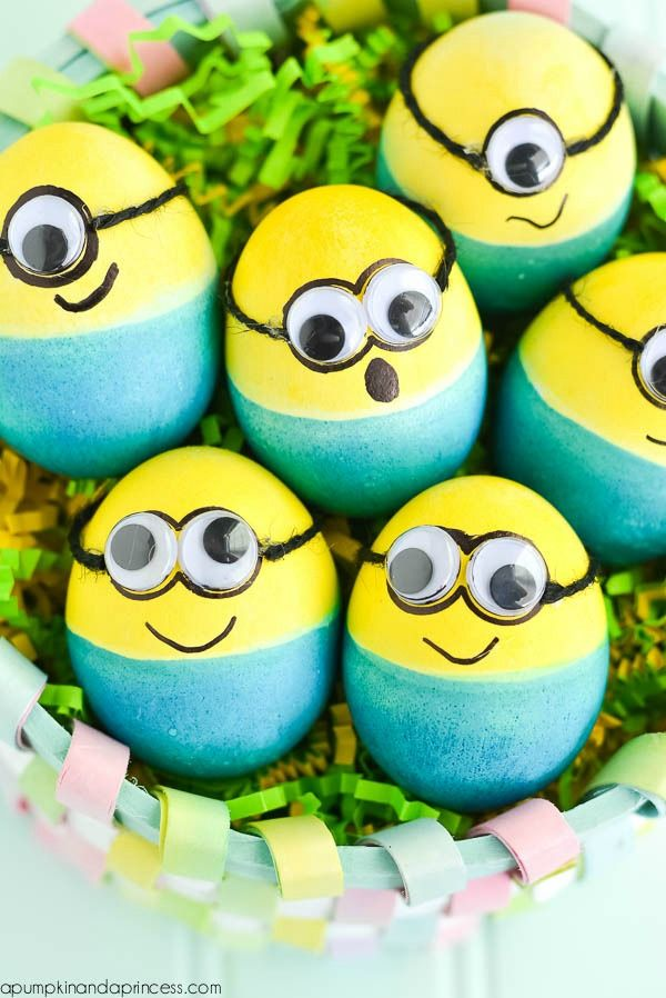 Twenty Unique Ways To Decorate Easter Eggs Easter Minion Easter