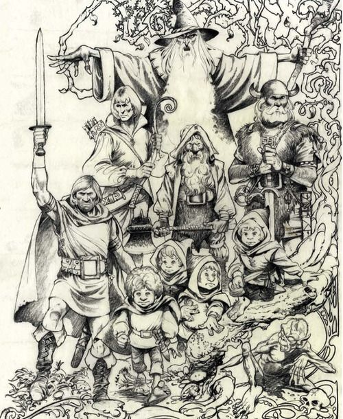 Lord Of The Rings Nazgul Concept Art By Mike Ploog: Mike Ploog - Google Search