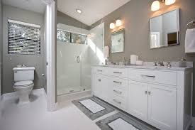 Gray Bathroom Ideas For Relaxing Days And Interior Design  Grey Beauteous Small Gray Bathroom Inspiration Design