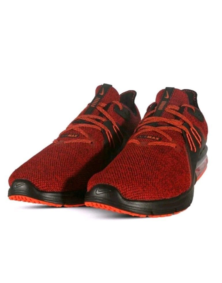 info for 19e45 274bc Nike Air Max Sequent 3 Men s Running Shoes Sneakers 921694-066 Size 12 Red