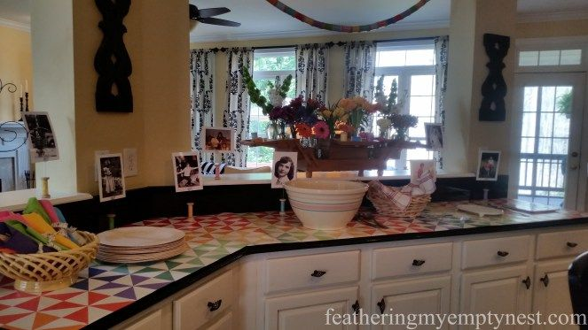 A Quilt-themed Birthday Party - Feathering My Empty Nest