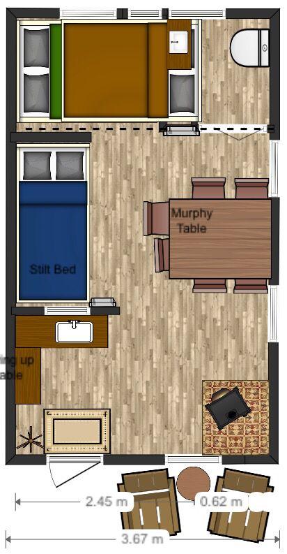 12x20 floor plan cabin layout tiny house cabin floor on best tiny house plan design ideas id=77749