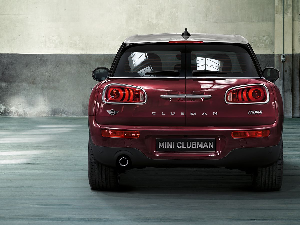 The Split Rear Doors On The Mini Clubman Are Inspired By
