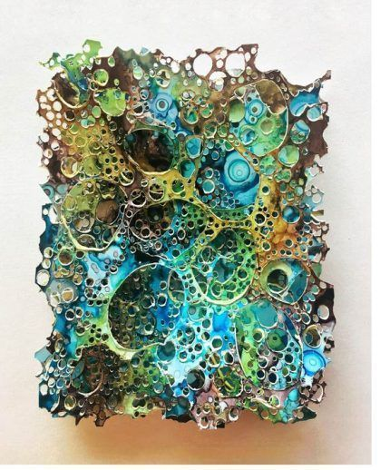 22 AMAZING Alcohol Ink Projects - Design by D9