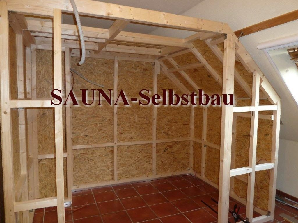 saunaselbstbau steam room in 2019 sauna sauna selbst. Black Bedroom Furniture Sets. Home Design Ideas
