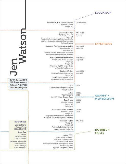 New Resume Design By Kiwikewlio Via Flickr Bewerbung Lebenslauf Vorlagen Lebenslauf Infografik Lebenslauf