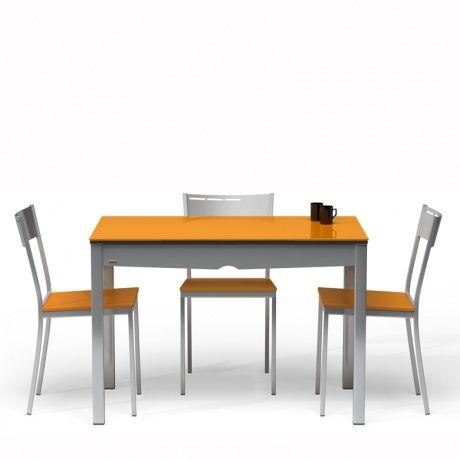 Table De Cuisine En Verre Pour Petit Espace Tavolina 1