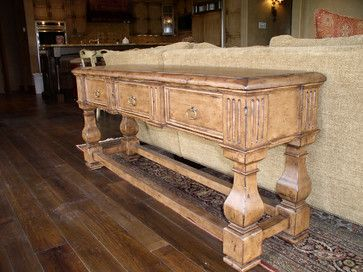 light console table  - traditional - family room - phoenix - All Wood Treasures