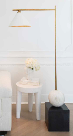 Cleo floor lamp by kelly wearstler
