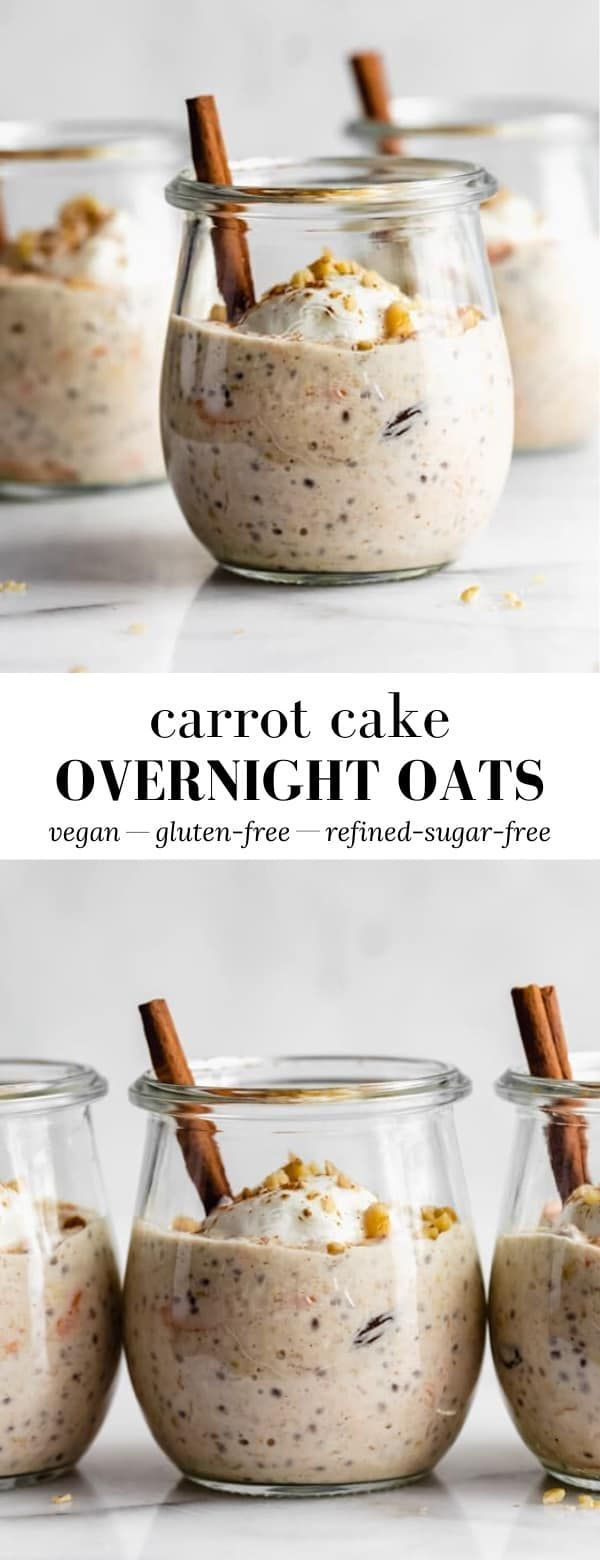 Photo of Carrot cake overnight oats