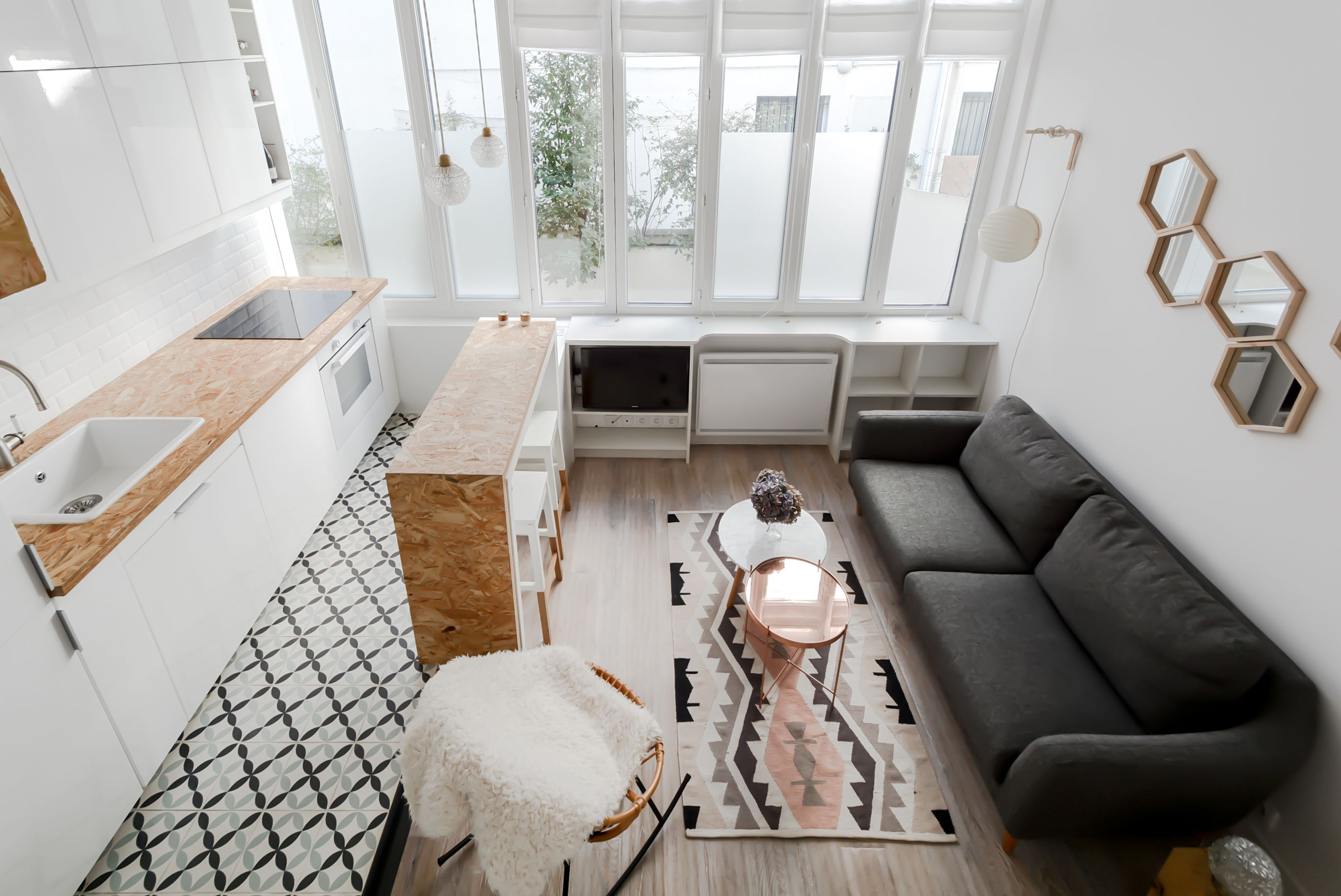 Small apartment loft in paris 22 square meters or how to make a lot with a tiny space loft small tiny space