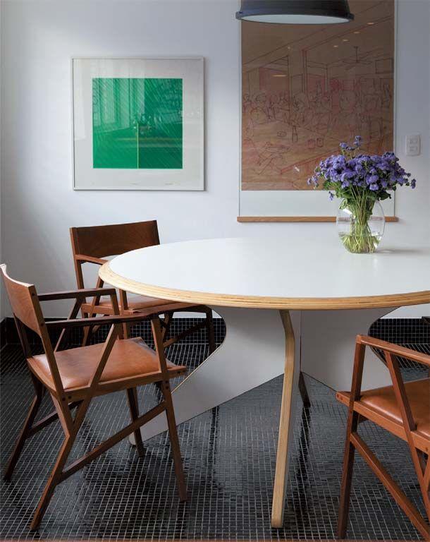 Oficina de Arquitetura: Sala Jantar - Mesa redonda | Estudio ...