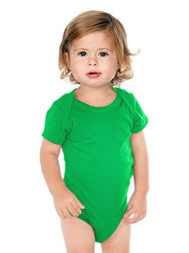 af73b5fa37 Kavio Unisex Infants Lap Shoulder Short Sleeve Onesie Same IJP0492 Kelly  Green 18M   You can find out more details at the link of the image.