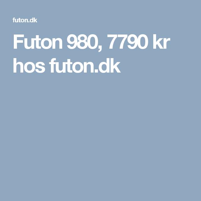 Futon 980 7790 Kr Hos Futon Dk Futon Madras
