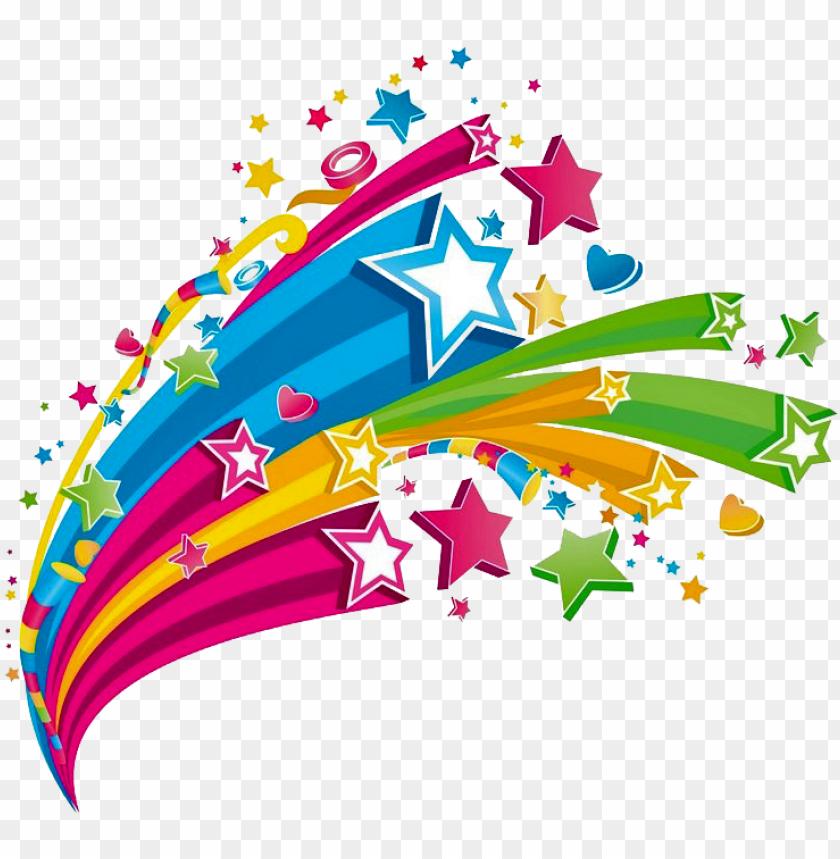 Universidad Popular De Higuera De Vargas Carnaval Colorful Stars Png Image With Transparent Background Png Free Png Images Drawing For Kids Free Png Transparent Background