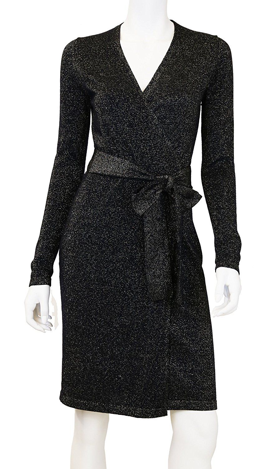 Doria Women s Wool Sparkle Wrap Sweater Dress     This is an Amazon  Affiliate link. Click image to review more details. 2d1c8b845