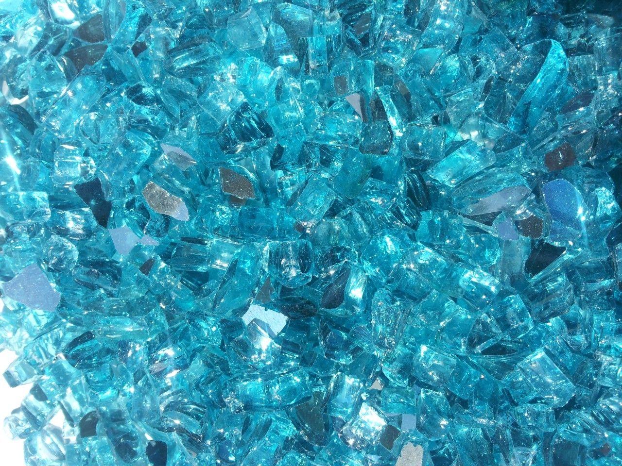 Fire On Glass - Caribbean Blue Metallic / Azuria Reflective per pound, $4.25 (http://www.fireonglass.com/caribbean-blue-metallic-azuria-reflective-per-pound/)