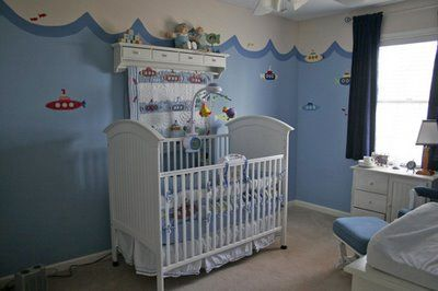 Custom Nursery Art By Kimberly Real Life Rooms Under The Sea
