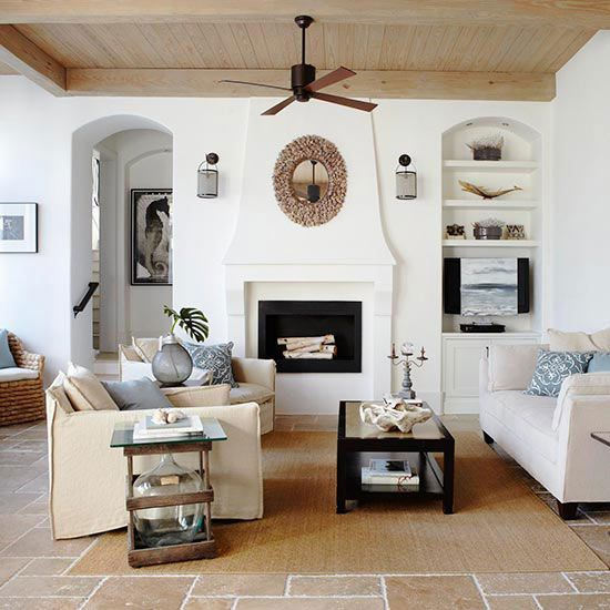 Fireplace Designs and Decorating Ideas Mantels, Ceilings and Room