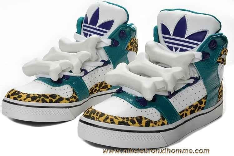 Nouveau Adidas X Jeremy Scott Bones Chaussures