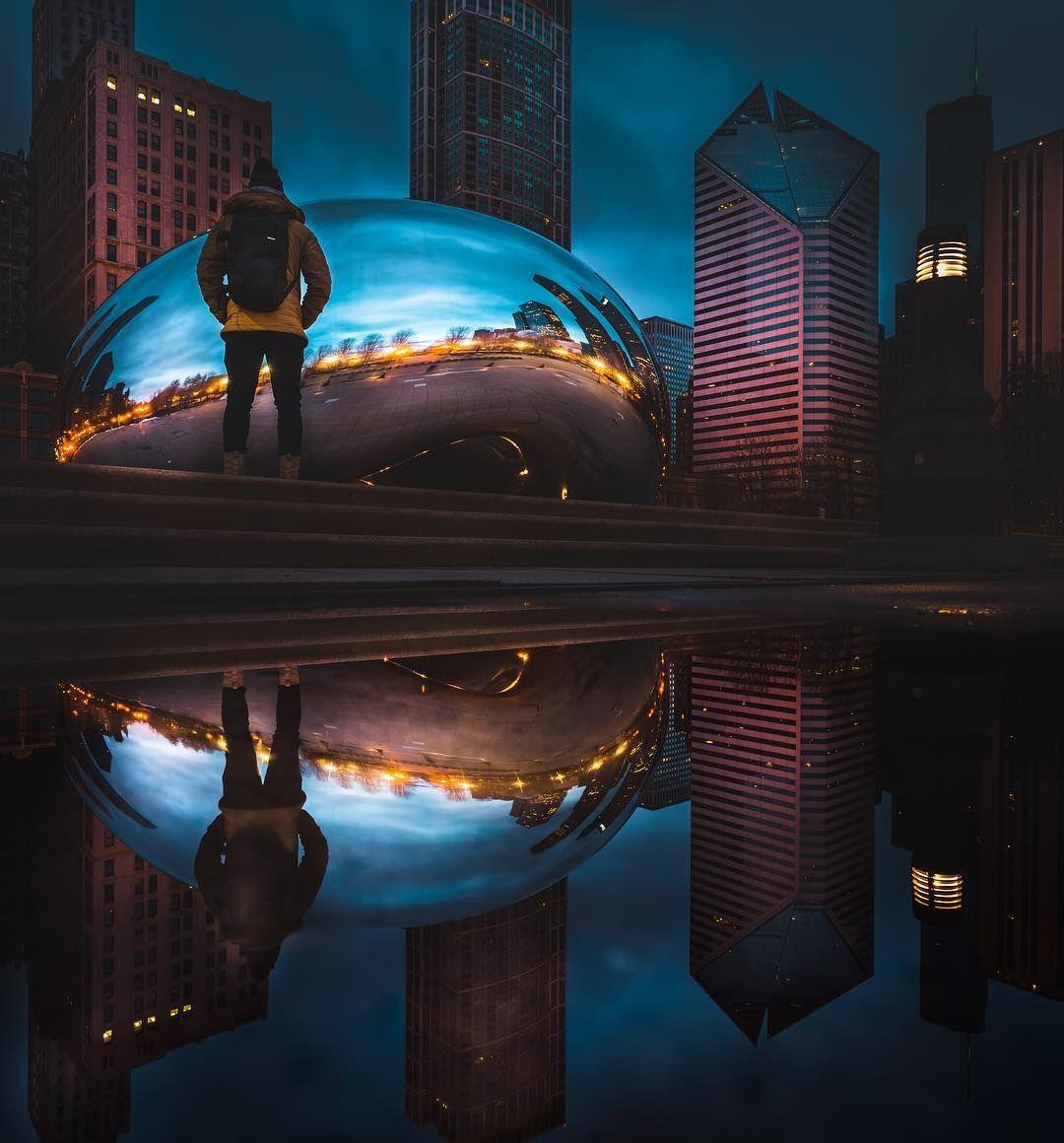 Эффектные фото городских пейзажей от Майка Майерса « FotoRelax