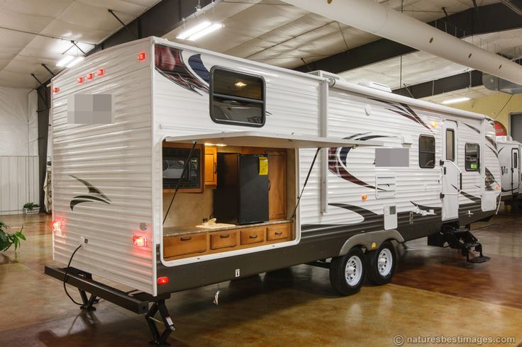 Diy Rv  Google Search  Rv Ideas  Pinterest  Ultra Lite Travel Captivating Travel Trailer With Outdoor Kitchen Decorating Design