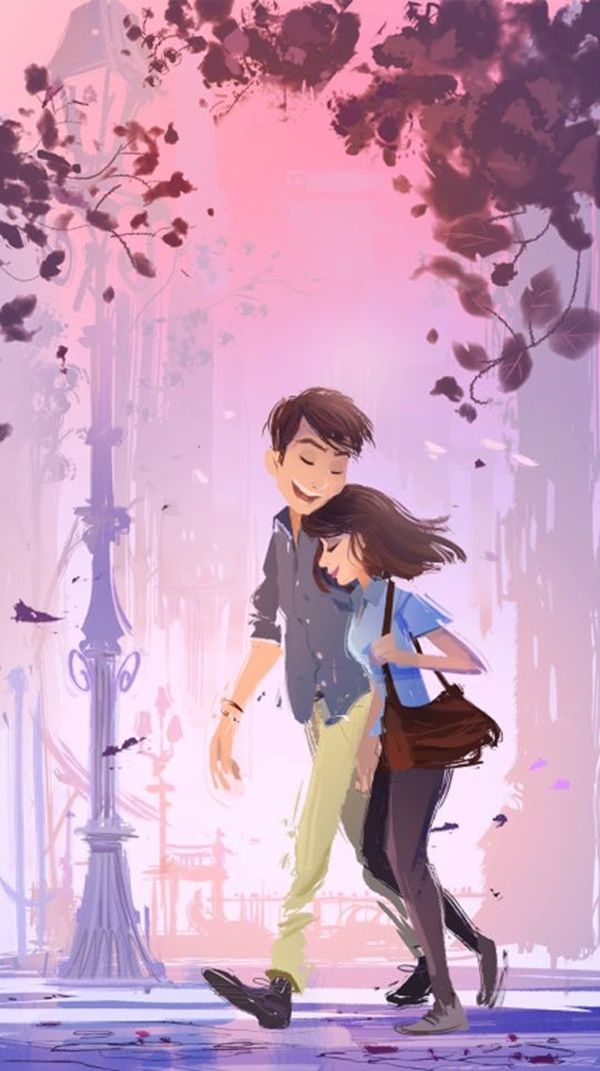 Image Result For Cute Cartoon Couple Love Images Hd My Votes Couple