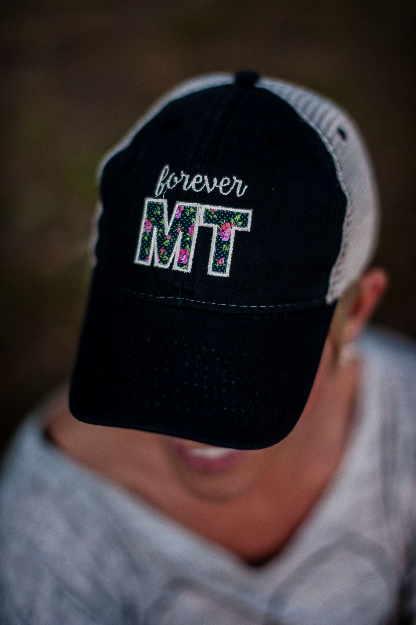 Forever MT Mesh Back Hat in Black/Khaki