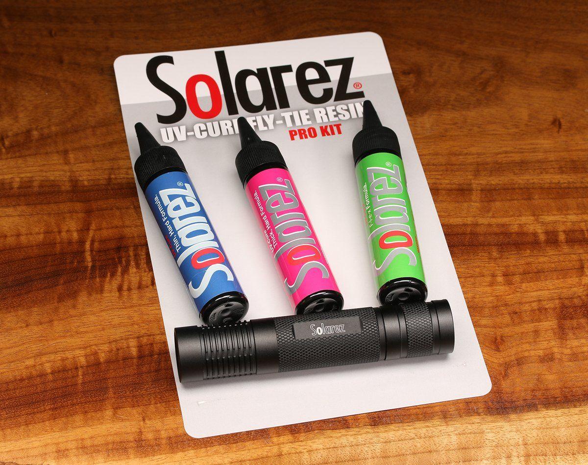 Solarez Roadie Pack Uv resin, Packing, Fly tying patterns