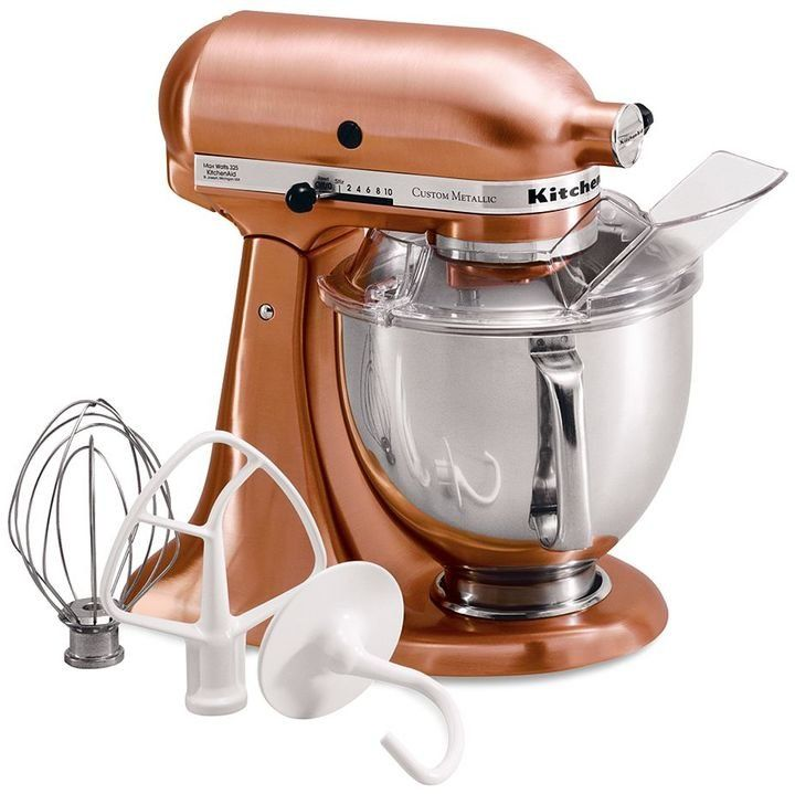 copper kitchenaid mixer 6 quart
