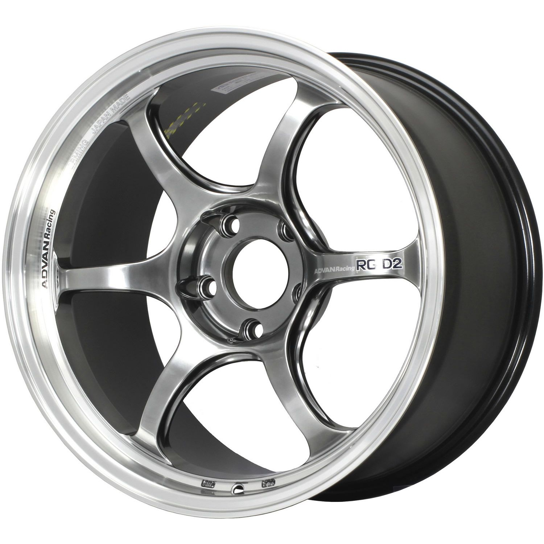 Advan Racing Rg D2 18x10 5 24 Hyperblack Yat8l24whb Fitment Industries Wheel Custom Wheels Advan Wheels