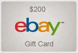 Win A 200 Ebay Gift Card All Kinds Of Giveaways In One Place Daily Updating Why Bother Wasting Your Time Ebay Gift Gift Card Cards