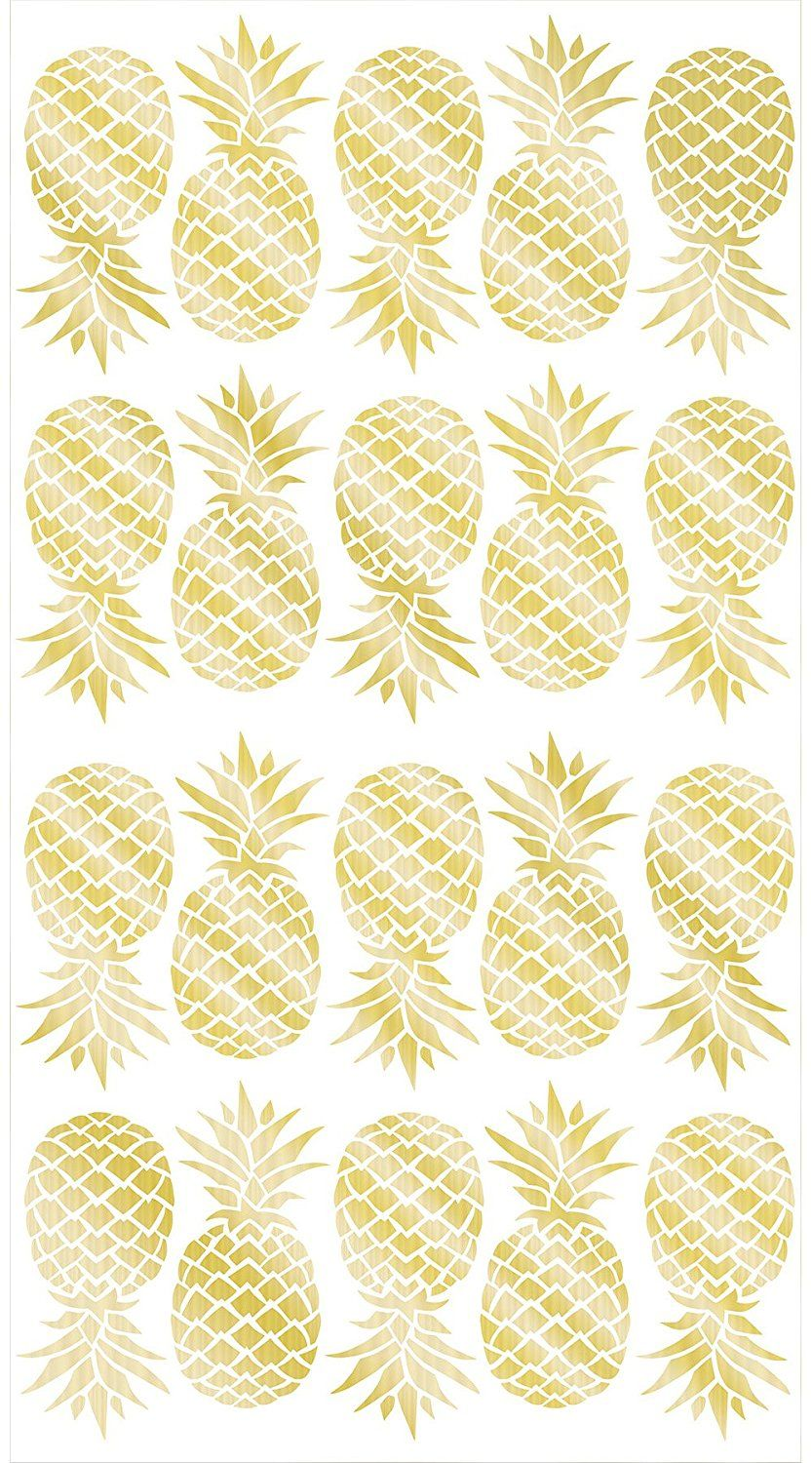 Wall Pops WPK1908 Pineapple Wall Art Kit -- Read more reviews of the ...