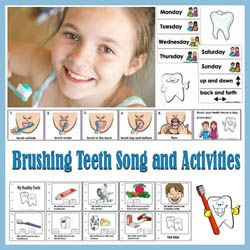 Preschool And Kindergarten Brush You Teeth Every Day
