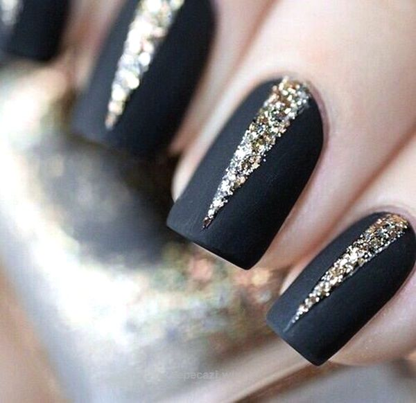 45 Easy New Years Eve Nails Designs and Ideas 2016 – Latest Fashion Trends    Gold   Pinterest   Easy, Nail inspo and Nails inspiration - 45 Easy New Years Eve Nails Designs And Ideas 2016 – Latest
