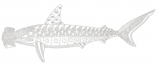 Hammerhead Shark Coloring Page Kidspressmagazine Com Shark Coloring Pages Coloring Pages Ocean Coloring Pages