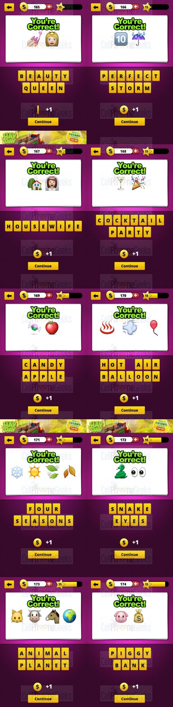 Guess The Emoji Level 15 Answers Cellphonegeeks Guess The Emoji Answers Guess The Emoji Emoji Answers