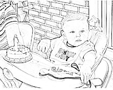crayola personalized coloring pages dawson 2nd birthday