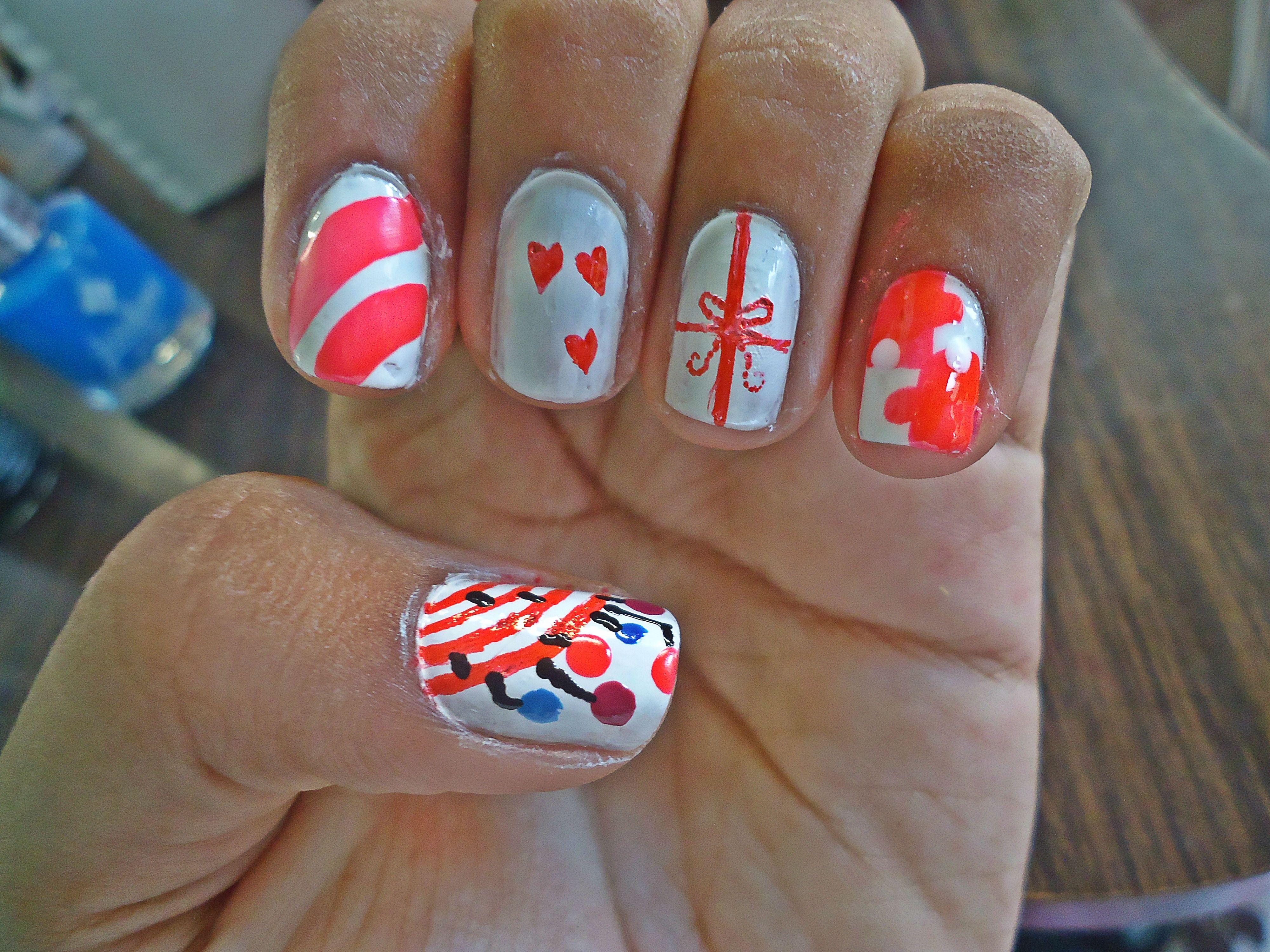 4 ideas faciles de como decorar tus uñas, mas detalles en stylesbeautifulsoul.wordpress.com