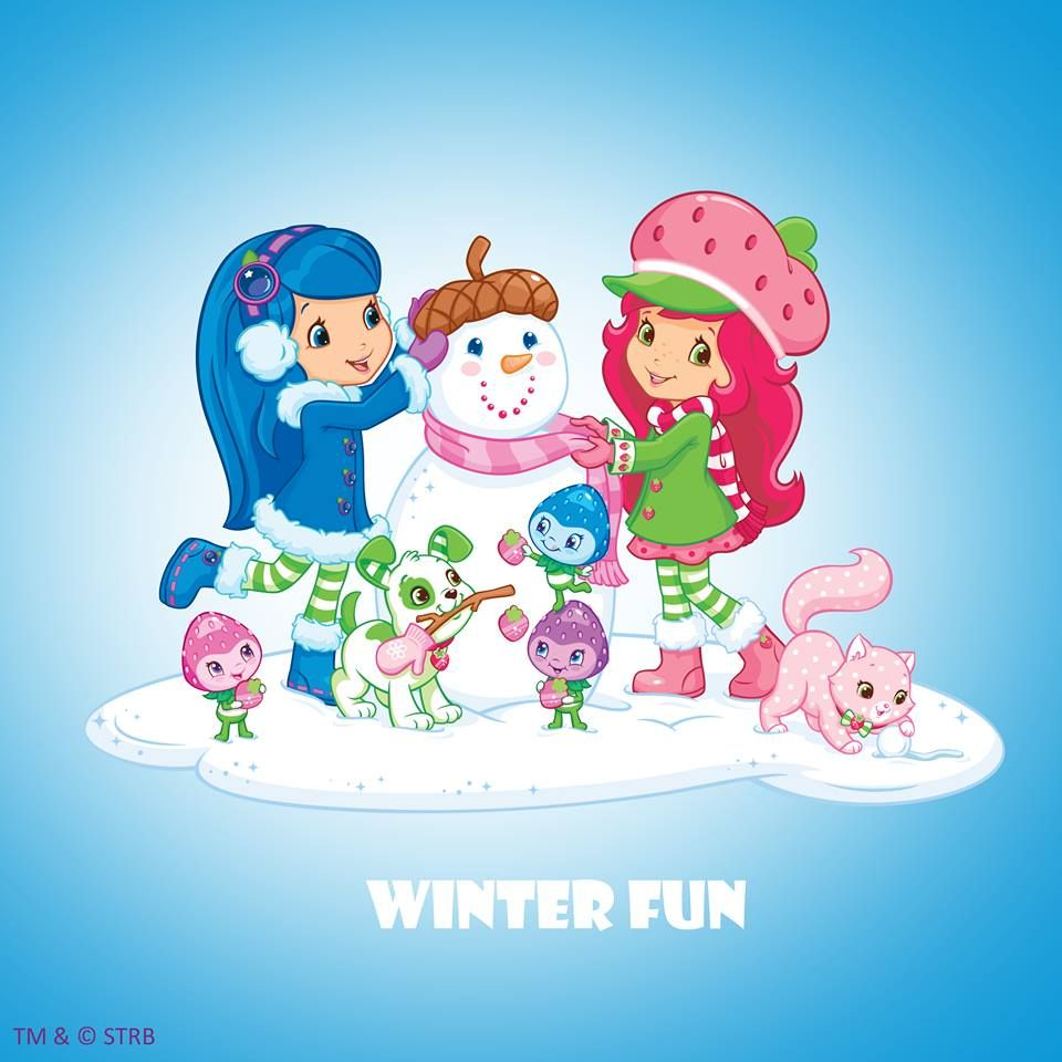 Strawberry Shortcake - Winter Fun | frtillita | Pinterest ...