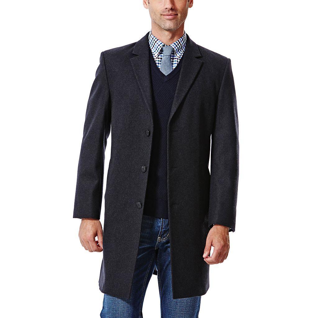 Big Tall Haggar Classic Fit Melton Wool Blend Coat Kohls Wool Blend Coat Mens Coats Melton [ 1024 x 1024 Pixel ]