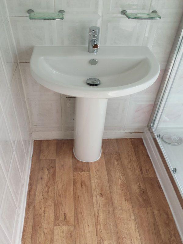 Basin Pedestal Installation In Leeds By Uk Bathroom Guru Basin Vanity Unit Shower Vanity Units
